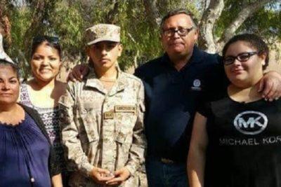 """Soldado David Veloso tras su liberación: """"Un saludo a todo el pueblo de Chile que está luchando"""""""