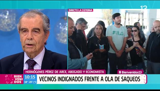 """C13 pide disculpas a Hermógenes Pérez de Arce """"por el mal rato"""" sufrido en Bienvenidos"""