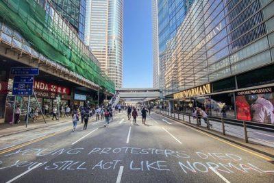 Hong Kong entra oficialmente en recesión tras meses de protestas
