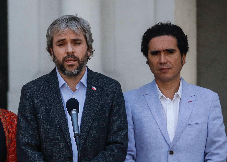 """""""Ministros Blumel y Briones: los nuevos"""