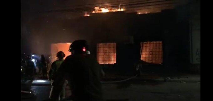 VIDEO   Incendio en sede parlamentaria de senador UDI Juan Antonio Coloma