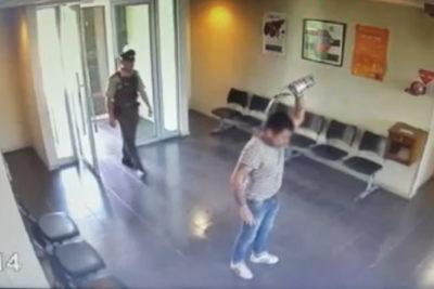 Villa Alemana: detienen a hombre que intentó quemarse a lo bonzo al interior de comisaría