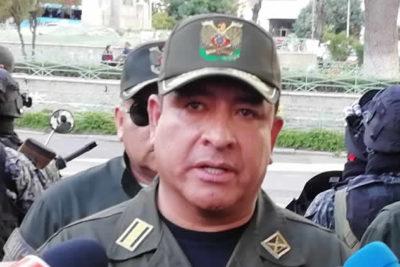 """Policía de Bolivia y levantamiento de efectivos: """"Están acuartelados, no amotinados"""""""