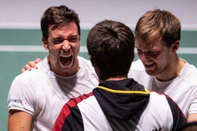 Alemania vence 3-0 a Argentina y complica a Chile en Copa Davis