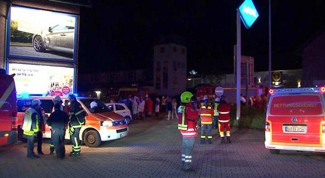 Alemania: evacuan club swinger con 350 personas por intoxicación con monóxido