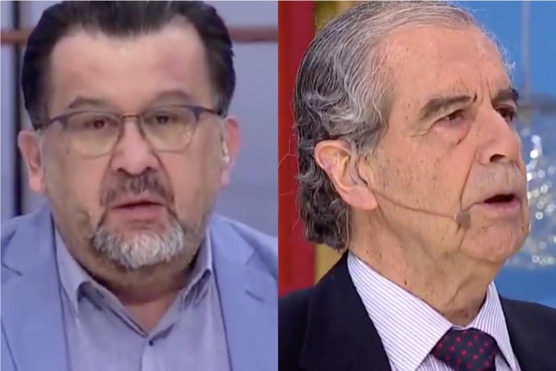 VIDEOS |La complicada mañana del Bienvenidos: la explicación de Carlos Zárate y la salida de Hermógenes Pérez de Arce