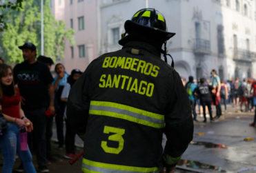 """Carolina Lazo, Teniente 2º de Bomberos: """"Esta ha sido históricamente la emergencia de mayor intensidad"""""""