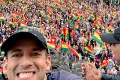 Luis Fernando Camacho, el principal líder opositor a Evo Morales