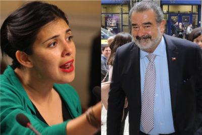 """""""Respete la democracia"""": el cruce entre Luksic y Karol Cariola por la renuncia de Evo Morales"""