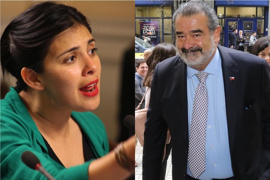 El cruce entre Luksic y Karol Cariola por la renuncia de Evo Morales
