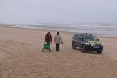 """""""Marea blanca"""": encuentran más de una tonelada de cocaína en playas francesas"""