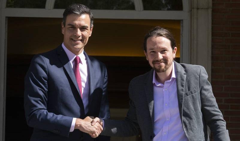 España: Pacto entre Sánchez e Iglesias deja al líder de Podemos como vicepresidente