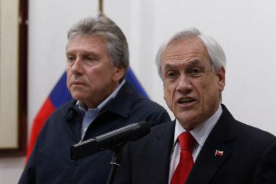 Lo que Espina y Piñera hablaron en la reunión nocturna en La Moneda