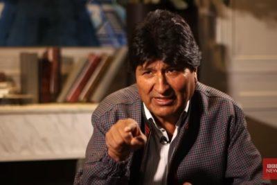 El fuerte cruce entre periodista de BBC y Evo Morales