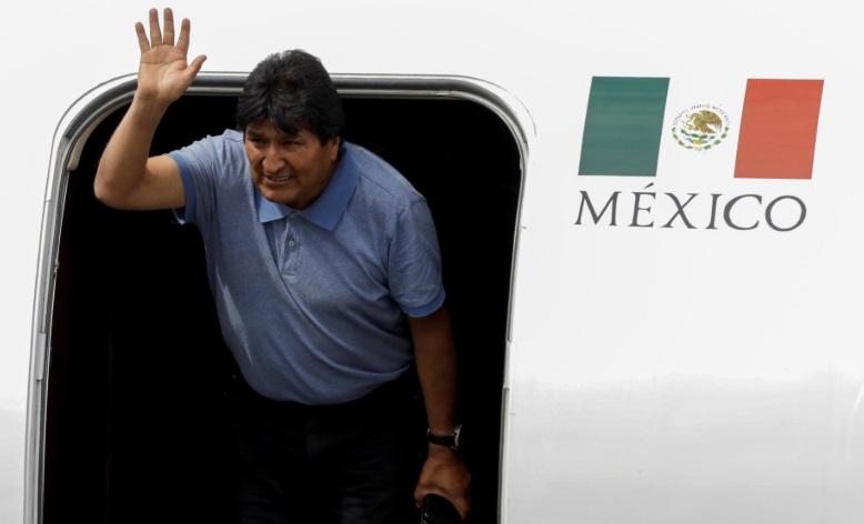 """Evo Morales en México: """"Sólo va a haber paz cuando se garantice la justicia social"""""""
