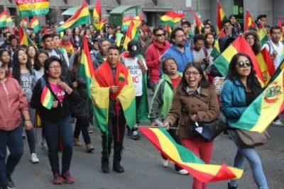 Bachelet exige a Bolivia garantizar la seguridad ciudadana tras manifestaciones