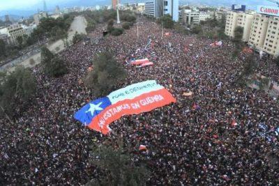 Cómo la Galería Cima pasó de ser un centro de arte a transmitir en vivo las masivas manifestaciones