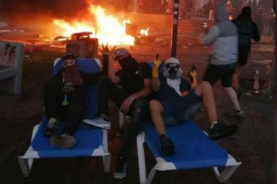VIDEOS   Saqueos y enfrentamientos entre civiles en nueva noche de violencia