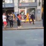 El video de un incendio en un banco que generó debate en redes sociales