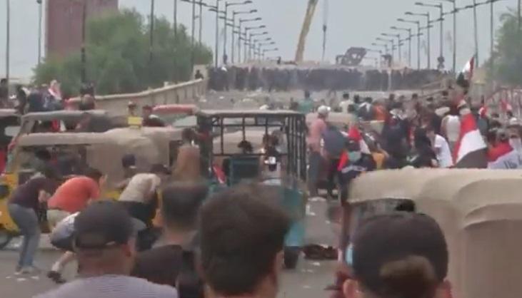 """""""Protestas en Irak que piden"""