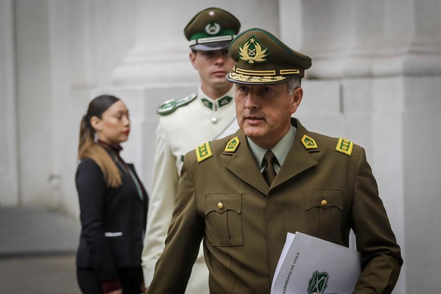 """""""A nadie voy a dar de baja por procedimiento policial"""": Carabineros explica audio de general Rozas"""