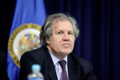 """Secretario general de la OEA: """"En Bolivia hubo un autogolpe y fraude electoral"""""""
