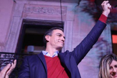Pedro Sánchez gana las elecciones de España, pero nuevamente sin mayoría