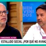 El tenso cruce entre Alberto Plaza y Claudio Arredondo en Bienvenidos