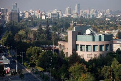 Embajada de EE.UU. emitió alerta por llamado a disparar al aire para protestar