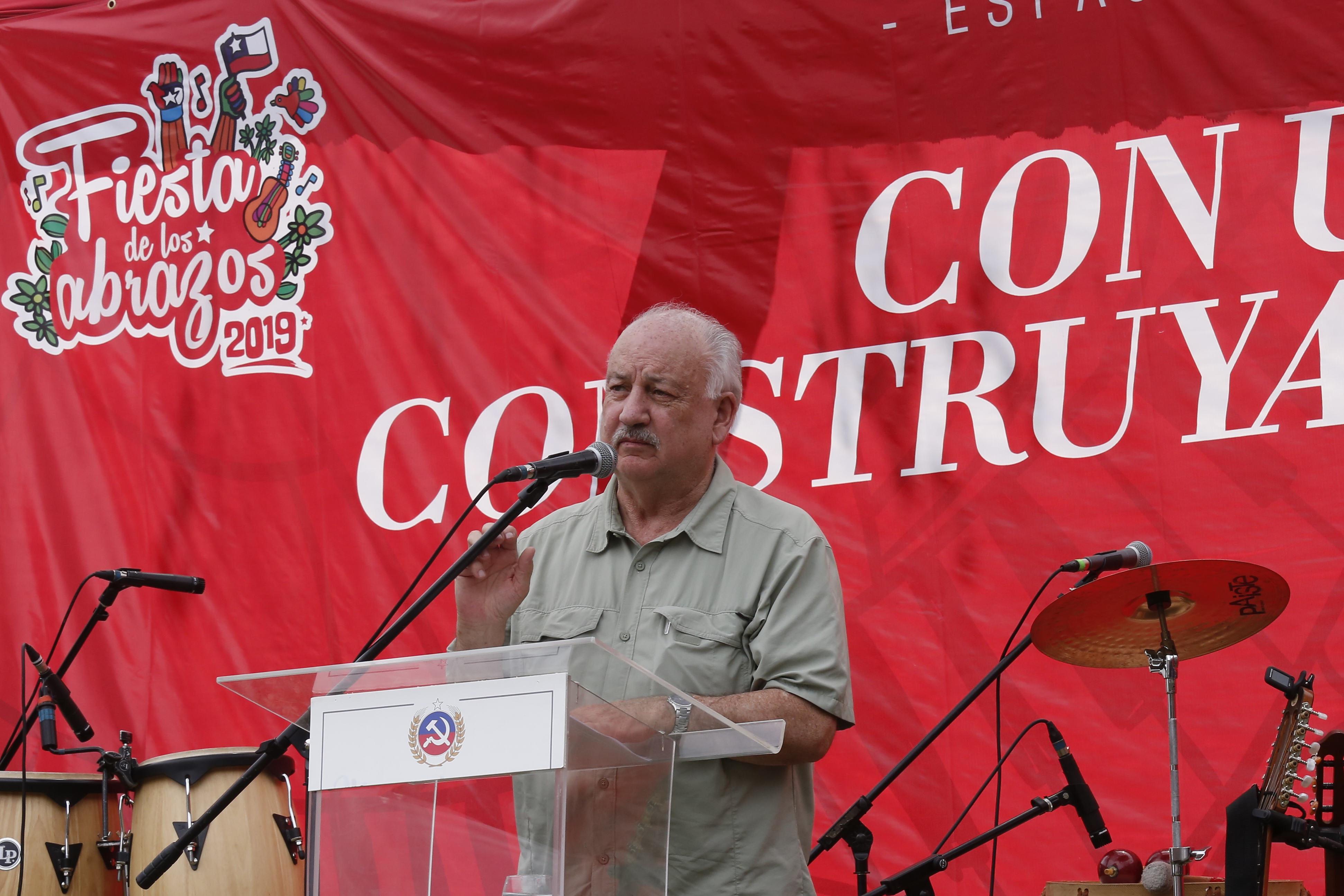 Partido Comunista suspende Fiesta de los Abrazos por falta de garantías de seguridad