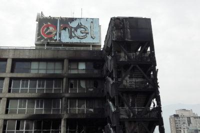 Incendio en el edificio ENEL ¿conspiración o concatenación?