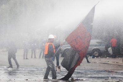 Las tres soluciones a la crisis social chilena según la encuesta de Espacio Público e Ipsos