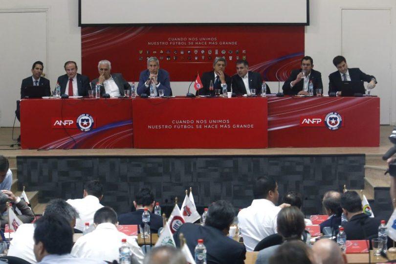 Consejo de Presidentes de la ANFP definirá los ascensos del fútbol chileno