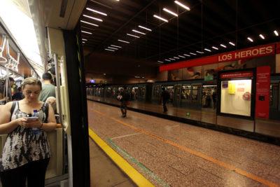 Santiago no tendrá transporte público la noche de Año Nuevo