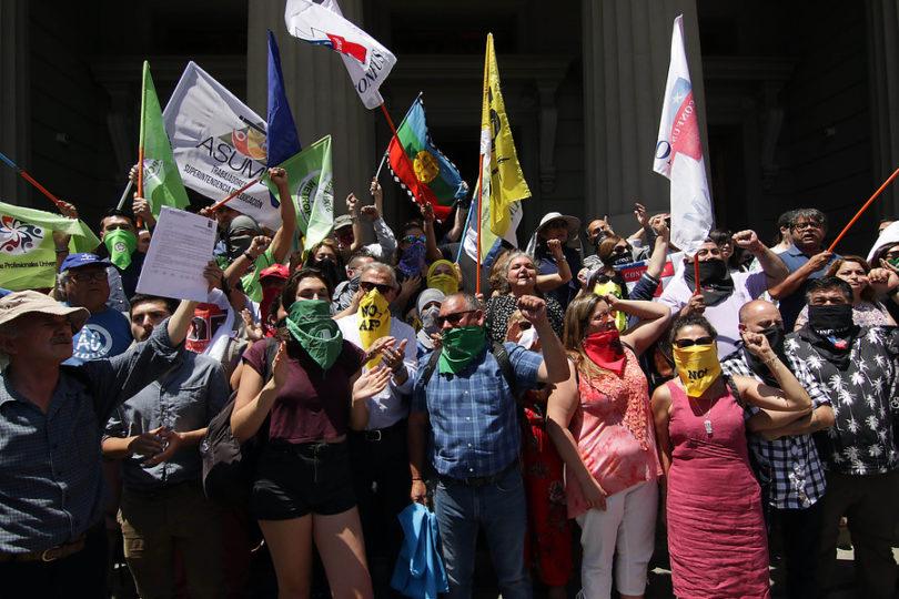 """Mesa de Unidad Social rechaza agenda de seguridad y llama a """"desobediencia civil"""""""