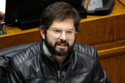 """Boric: """"Es la oportunidad de no esperar 30 años para decir que no habrá impunidad"""""""