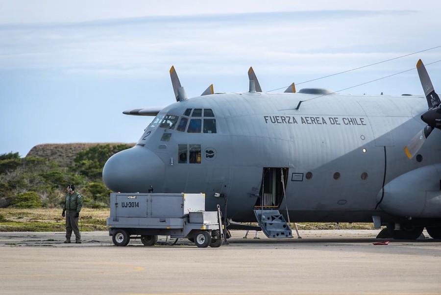 """""""FACh: avión Hércules siniestrado no transportaba material inflamable"""""""