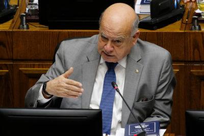 Los argumentos de José Miguel Insulza para votar a favor de la acusación contra Andrés Chadwick