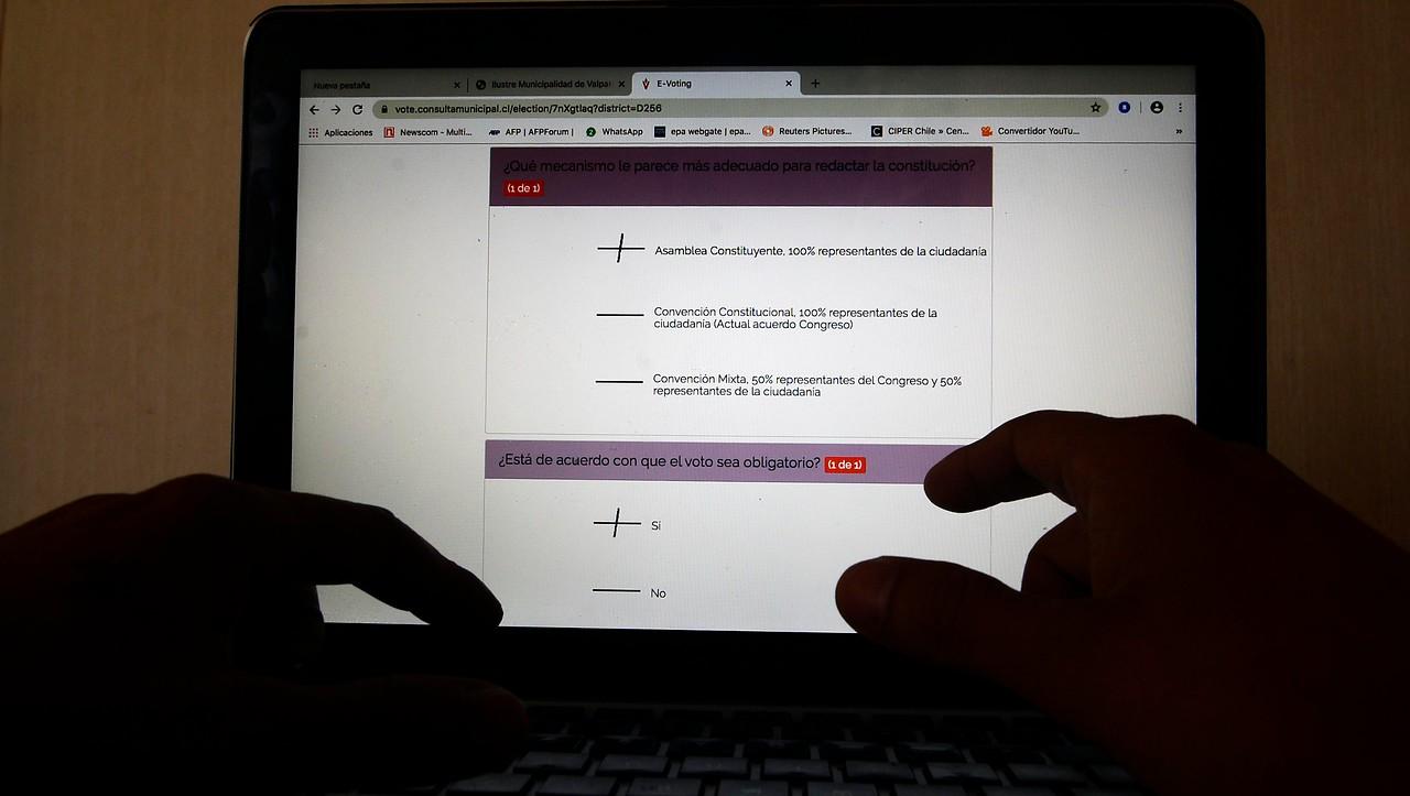 Las irregularidades detectadas en la consulta ciudadana con voto electrónico en todo Chile