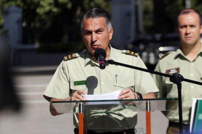 Carabineros: general Mario Rozas remueve a jefe de Fuerzas Especiales