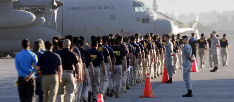 Gobierno expulsa nuevo grupo de migrantes de distintas nacionalidades