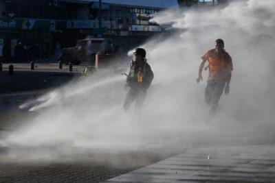Concepción: Corte prohíbe a Carabineros uso de químicos para restablecer orden público