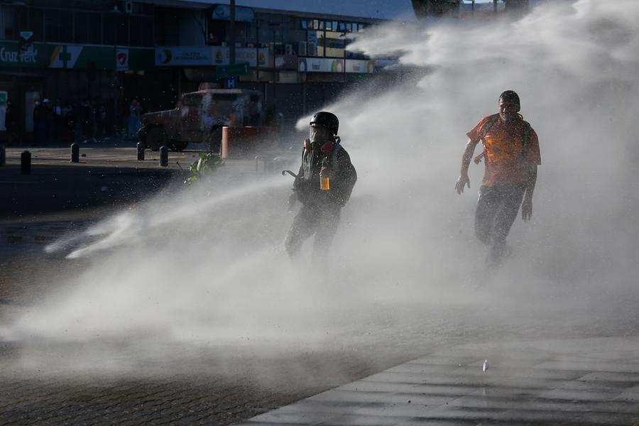 """""""Concepción: Corte prohíbe a Carabineros uso de químicos para restablecer orden público"""""""