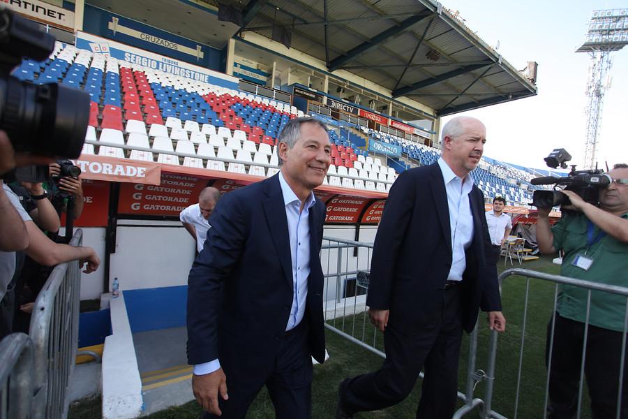 """""""Ariel Holan y el sorteo de Copa Libertadores:"""
