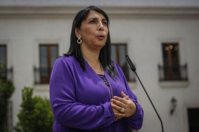 """Karla Rubilar defiende informe del Big Data: """"Hay mucha influencia extranjera que incentiva la violencia"""""""
