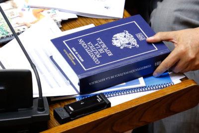 El mecanismo para destituir al Presidente podría estar en la nueva Constitución