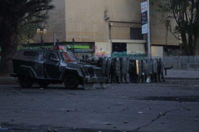 Carabineros abre investigación administrativa por atropello a manifestante