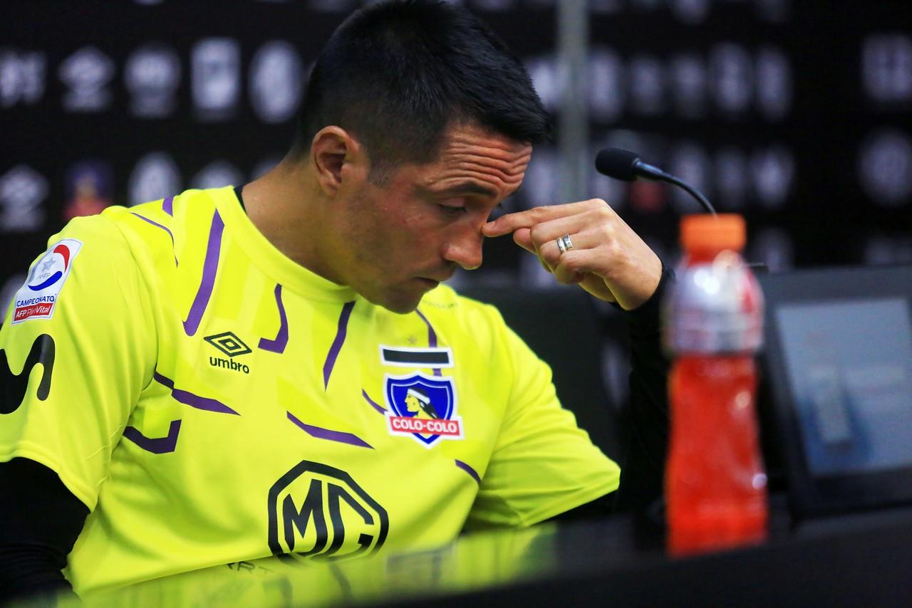 """Miguel Pinto responde a Herrera: """"Cada uno tiene sus demonios con quien pelear"""""""