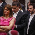 Van Rysselberghe llega a acto en La Moneda sin saludar a Blumel ni a Desbordes