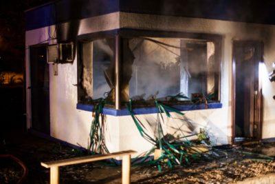 Invocarán Ley de Seguridad del Estado contra sujetos que quemaron casetas de peaje en Ovalle